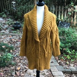 Oversized wool Loft sweater